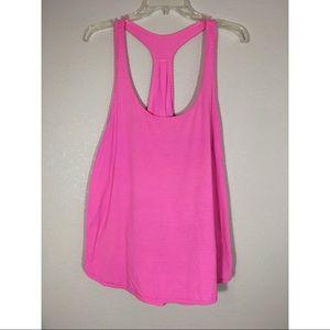 Lululemon Pink Tank Size 10-12